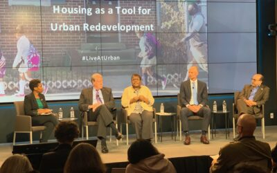 Housing as a Tool for Urban Redevelopment